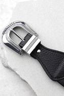 Lovestrength Sienna Black Leather Belt 3