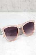 Soho Sun Black and Blush Sunglasses 1