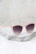 Soho Sun Black and Blush Sunglasses 2