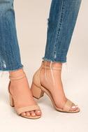 Harper Almond Ankle Strap Heels 2