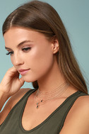 The Chic and the Stone Gold Layered Choker Necklace 1