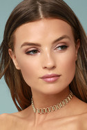 Babe Town Gold Chain Choker Necklace 2