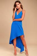 Adelyn Rae Oliana Royal Blue Midi Dress 5