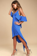 Adelyn Rae Oliana Royal Blue Midi Dress 2