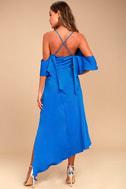 Adelyn Rae Oliana Royal Blue Midi Dress 3