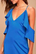 Adelyn Rae Oliana Royal Blue Midi Dress 4