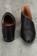 Karmen Black D'Orsay Pointed Toe Booties 3