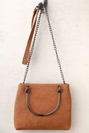 Charmed Style Tan Mini Bag 1