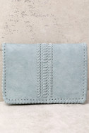 Playful Days Sage Green Clutch 1