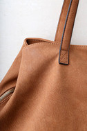 Uptown Mama Brown Tote 1
