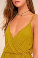 Project Social T Cold Brew Chartreuse Romper 4