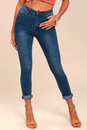 Bandmate Medium Wash Skinny Jeans 2