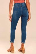Bandmate Medium Wash Skinny Jeans 3
