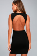 Hey Honey Black Bodycon Dress 3