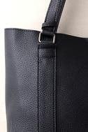 Style Script Black Tote Bag 2