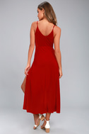 Time to Tango Red Midi Dress 3