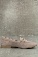 Molly Lynn Taupe Black Loafers 2