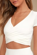 By Your Side White Two-Piece Dress 4
