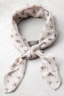Vanessa Mooney Star Rush Cream Bandana 1