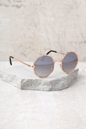 Perverse Xanadu Gold and Black Sunglasses 1