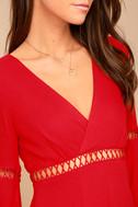 Love Letters Red Skater Dress 4