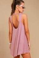 Chasing Sunshine Mauve Swing Dress 3