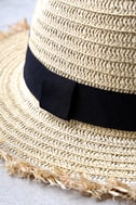 Tide Pools Beige Straw Hat 3