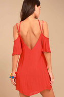 Afterglow Red Shift Dress 3