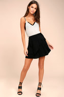 On the Sway Black Wrap Skirt 1