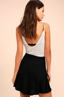 On the Sway Black Wrap Skirt 4