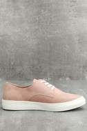 Patsy Dusty Mauve Suede Sneakers 2