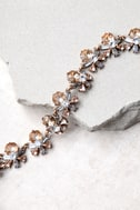 Kaleidoscope Dreams Gold Rhinestone Necklace 2