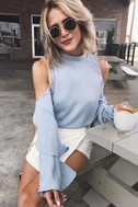 Flow With It Light Blue Top 7