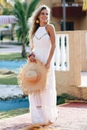 Some Kind of Wonderful White Lace Maxi Dress 5