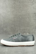Superga 2750 Satin Grey Sneakers 1
