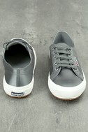 Superga 2750 Satin Grey Sneakers 3