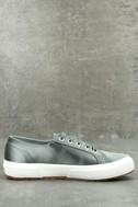 Superga 2750 Satin Grey Sneakers 2