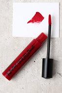 NYX Kitten Heels Red Liquid Suede Cream Lipstick 1
