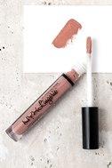 NYX Baby Doll Nude Pink Lip Lingerie Liquid Lipstick 1