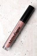 NYX Baby Doll Nude Pink Lip Lingerie Liquid Lipstick 2