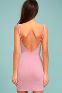 Get to Know Me Mauve Pink Bodycon Dress 3