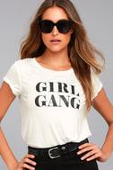 Girl Gang White Tee 3