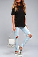 Sidewalk Stunner Grey Backpack 4