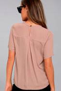 Simply Sophisticated Mauve Top 1