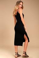 Billabong Great News Black Midi Dress 2