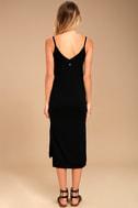 Billabong Great News Black Midi Dress 3