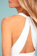 Hot-Cha-Cha White Bodysuit 3