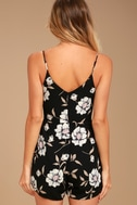 Magical Meadow Black Floral Print Skort Dress 3