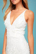 Dress the Population Sidney White Embroidered Maxi Dress 4