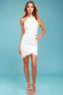 In the Moment White Embroidered Dress 1
